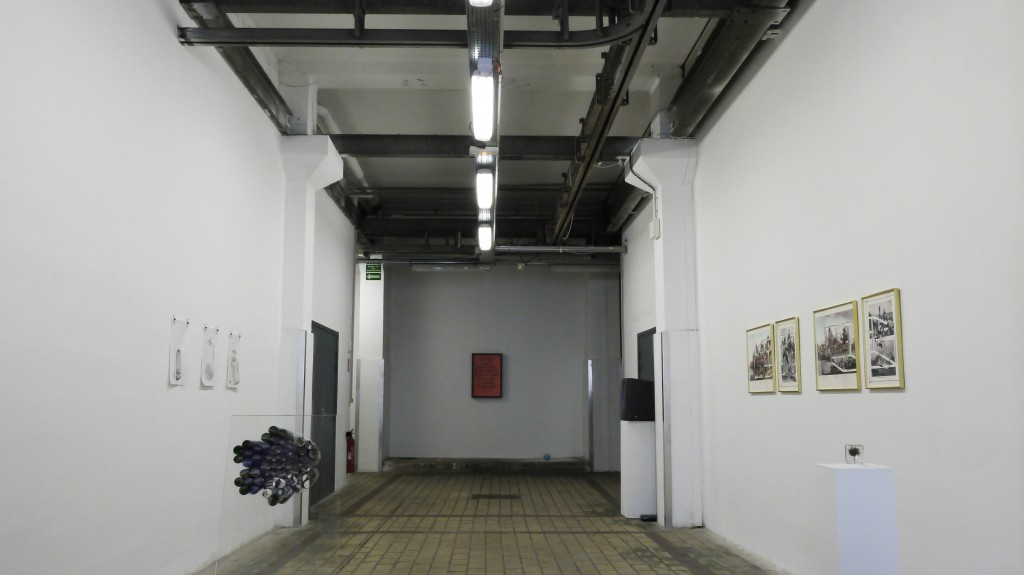 Exhibition view of Sunshine & Precipitation by Catalyst Arts (Belfast) at La Station, Nice