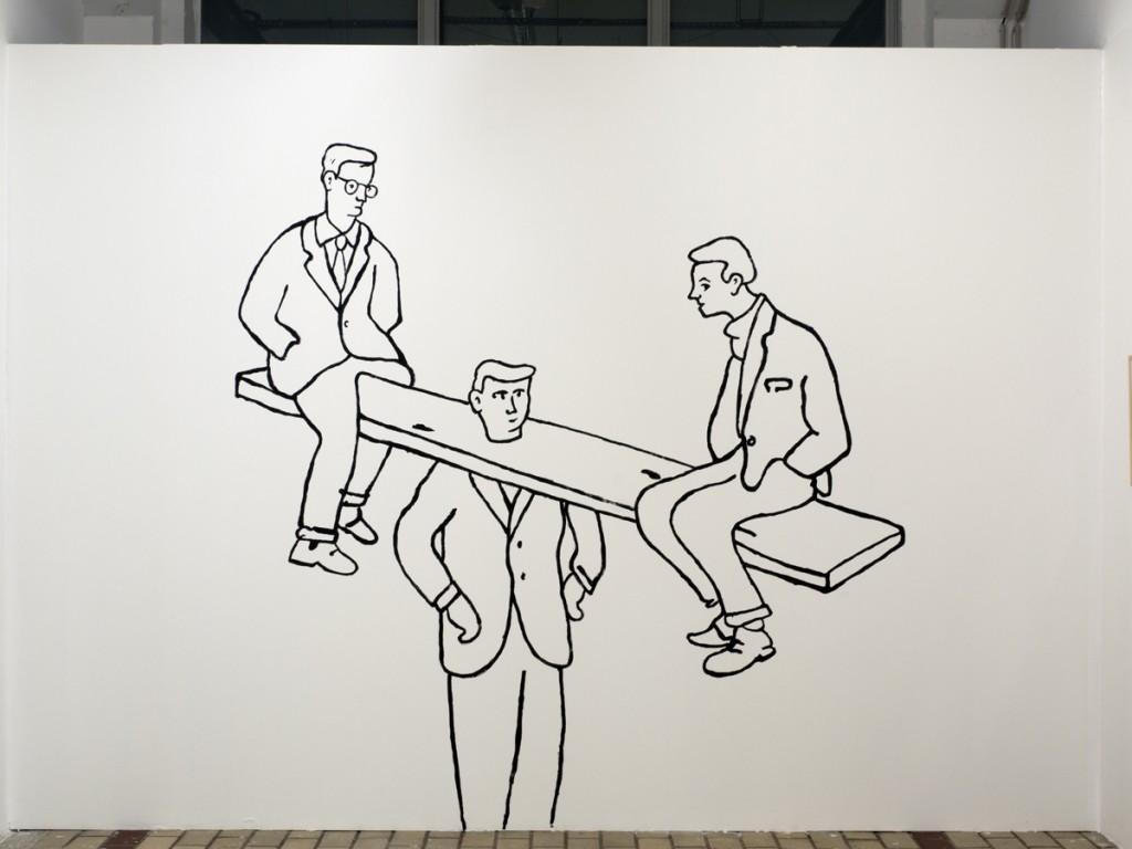 Glen Baxter contemporary art nice la station
