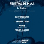 festival de mai music contemporary art la station projet cluster nice