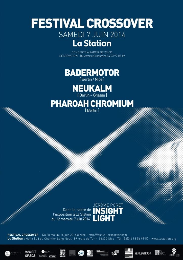 LA STATION CROSSOVER MUSIC CONTEMPORARY ART