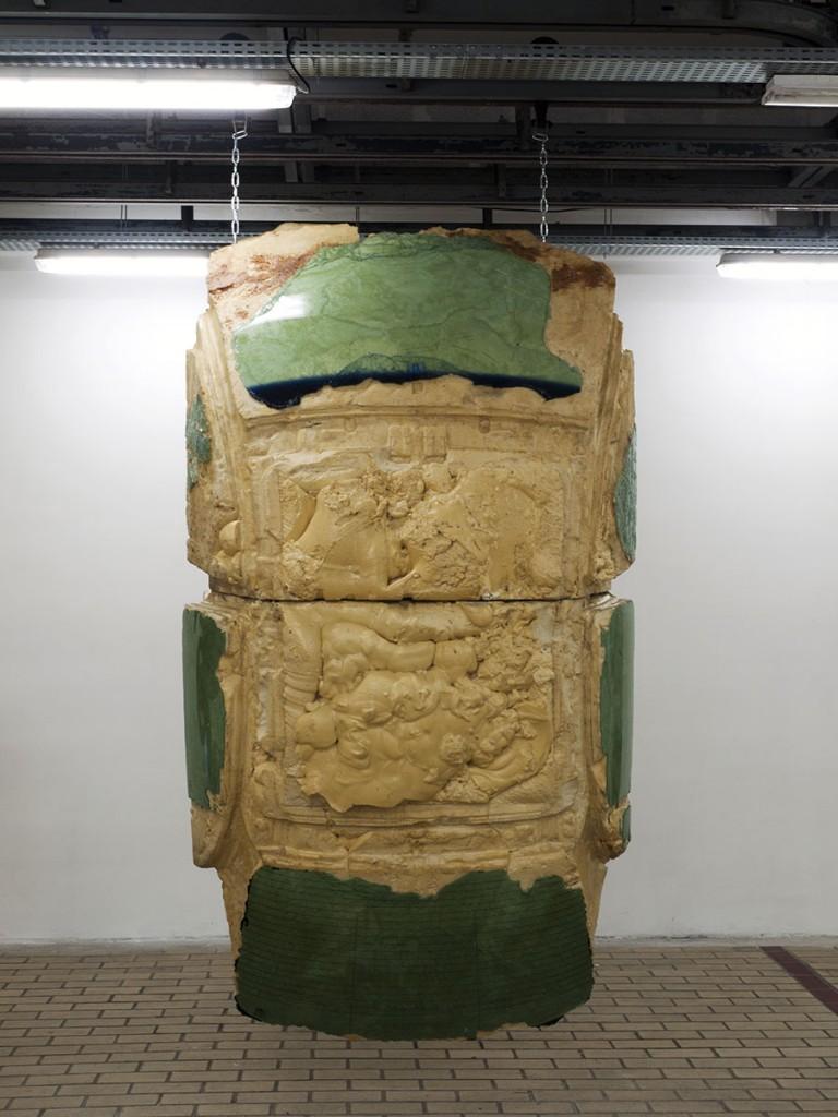 La Station Flux Tendu Delphine Reist Laurent Faulon contemporary art nice