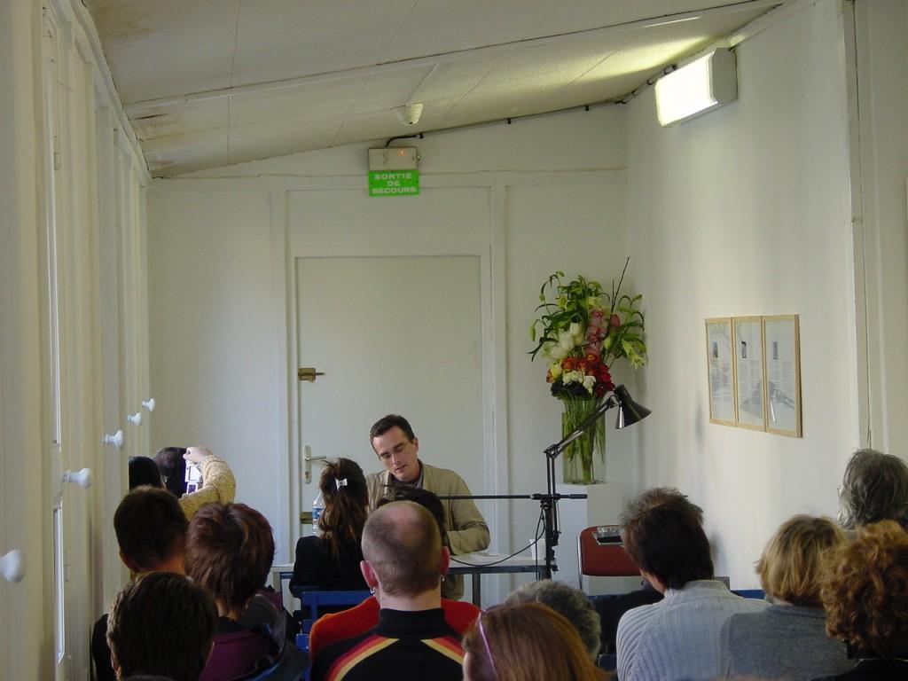 Jérôme Mauche art contemporain nice lecture