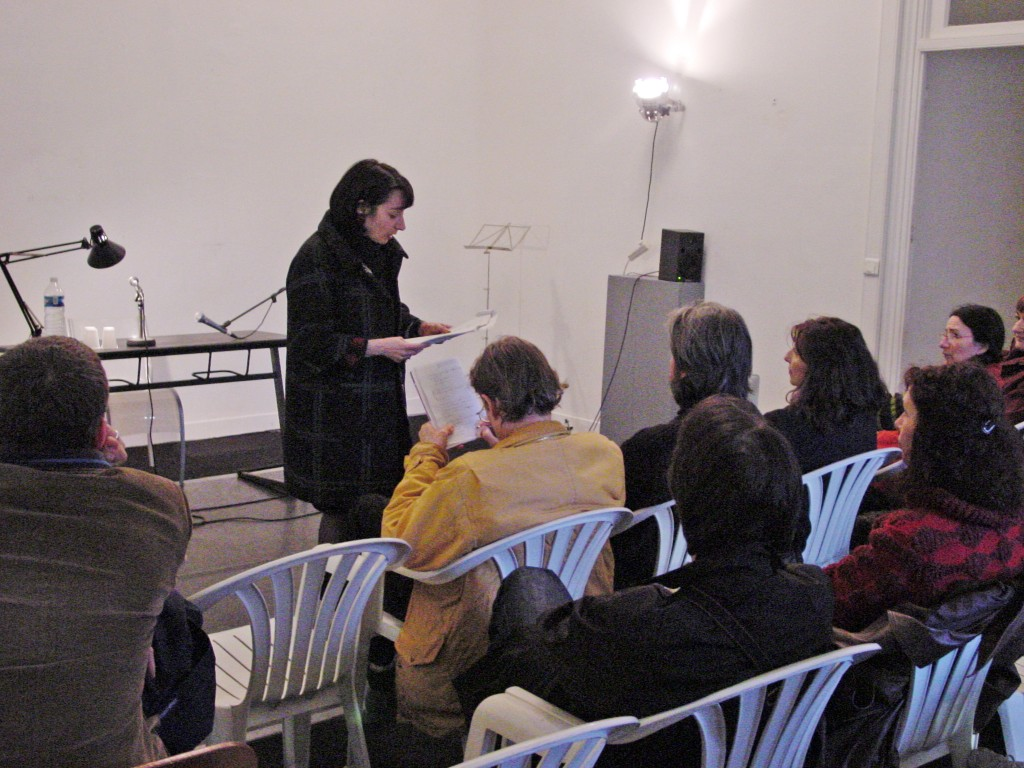 Claudie Lenzi art contemporain nice lecture