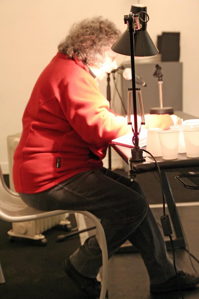 Liliane Giraudon art contemporain nice lecture