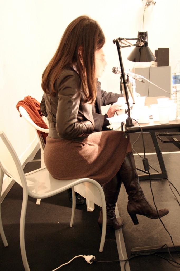 Dominique Meens et Cécile Mainardi art contemporain nice lecture