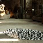 Musée St Pierre Paul Chazal - Colimaçon - Parterre de carreaux céramiques émaillés 300x180 cm