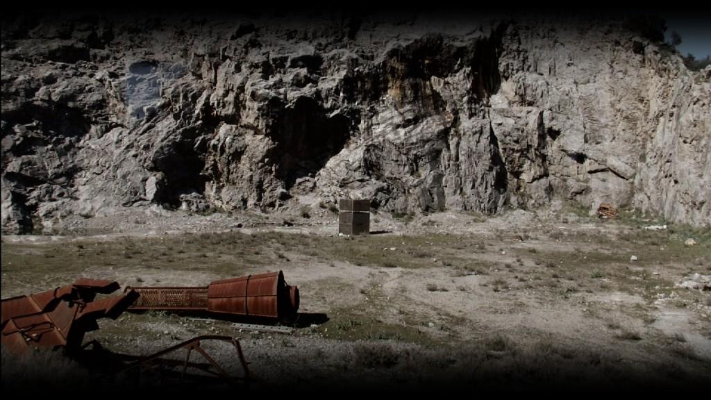 """Halle des Bouchers David Raffini """"Amnesia"""", vidéo HD, 7'20, 2011 (capture d'écran)."""