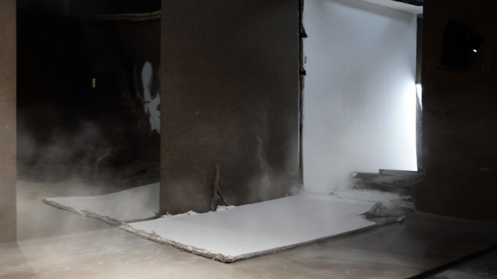 """Halle des Bouchers Florian Pugnaire """"Paramnesis"""", vidéo HD, 10', 2011 (capture d'écran)"""