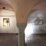 Halle des Bouchers David Raffini 'Amnesia', Vue d'installation, matériaux divers, dimensions variables, 2011.