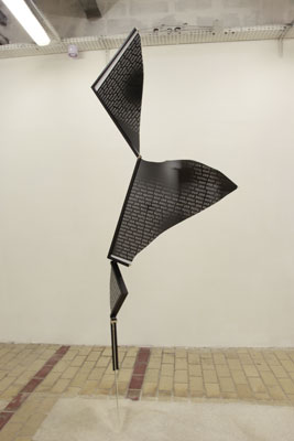 Francisco Da Mata - Une rose est une corde est une route est une fuite, 2011 - La Station -  Art Contemporain - Nice - Que sera sera II