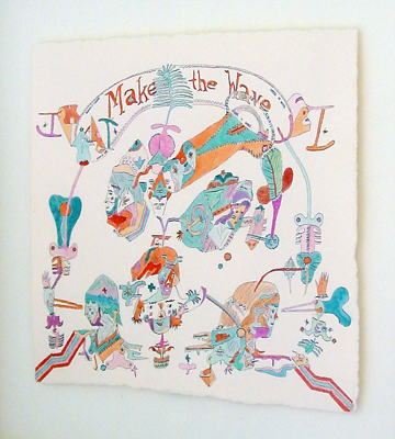 Kyle Field  - Make the wave — 2006   - La Station -  Art Contemporain - Nice - Off Modern