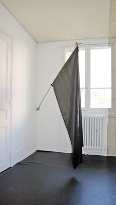 Reena Spaulings  - Sans titre (Small Flag 3) —2005 - La Station -  Art Contemporain - Nice - Off Modern