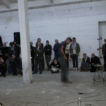 Aymeric Hainaux - Performance de corps et de son - La Station -  Art Contemporain - Nice - I Think Im Paranoïd