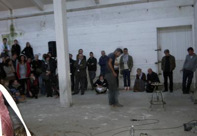 Aymeric Hainaux - Performance de corps et de son - La Station -  Art Contemporain - Nice - I Think Im Paranoïd