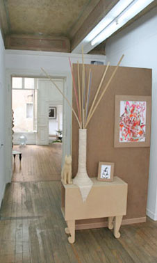 C'est pas l'bois qui prend vie, c'est la vie qui dvient bois — 2007 - La Station -  Art Contemporain - Nice - IRL (une exposition de choses)