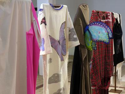 Ingrid Luche - Ghost Dresses, 2011 - La Station -  Art Contemporain - Nice - Ingrid Luche / Bruno Serralongue