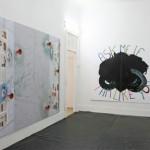 Dominique Figarella - Sans titre, 2006 [à gauche, 1] • Sans titre, 2008 [à droite, 2] - La Station -  Art Contemporain - Nice - Dominique Figarella