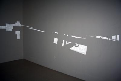 Bettina Samson - Ed's PROUN Rush — 2006 - La Station -  Art Contemporain - Nice - Certains travaux doivent être accomplis à la surface du sol...