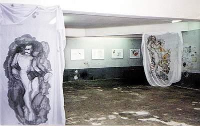 Jean-Luc Verna-Béatrice Cussol - La Station -  Art Contemporain - Nice - Béatrice Cussol - Jean-Luc Verna