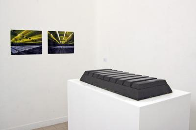 Edouard Ropars - INGOT I BELIEVE Maquette : Edouard Ropars – terre crue, 85 x 40 x 15 cm, 2008 - La Station -  Art Contemporain - Nice - Babylon Inside -- un projet dEdouard Ropars