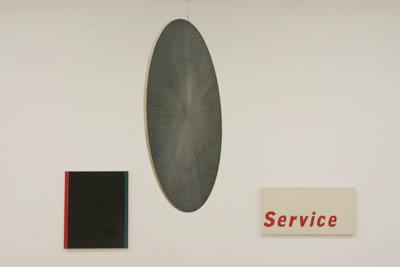 Emmanuel Van der Meulen - Sans titre # 52, 2007, Untitled, 2010, Service, 2010 - La Station -  Art Contemporain - Nice - My eyes keep me in trouble