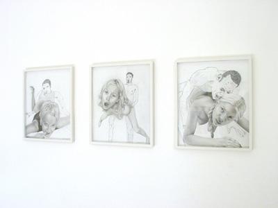 Colin Cook-Bill Shambaugh - Drawings with Bill - La Station -  Art Contemporain - Nice - M. Saissi de Châteauneuf-Dabray