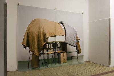 Geoffrey Cottenceau - Sans Titre (Éléphant), 2008. Tirage jet d'encre - La Station -  Art Contemporain - Nice - Écotone