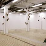 Michael Dans - That's all folks, 2001.  Oiseaux mécaniques : métal, tissu  - La Station -  Art Contemporain - Nice - Écotone
