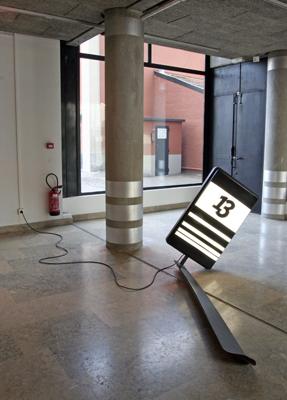 David Ancelin - Lucky'13, 2004 - La Station -  Art Contemporain - Nice - La Station à Villeurbanne