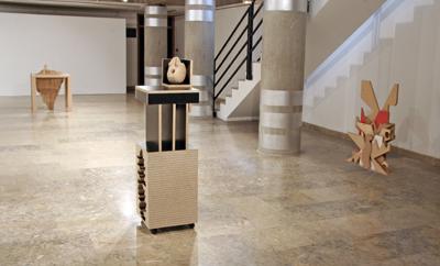 Émilie Perotto - Black sculpture, 2007 - La Station -  Art Contemporain - Nice - La Station à Villeurbanne