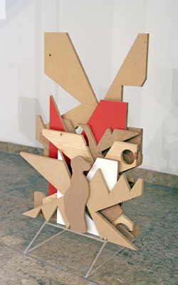 Émilie Perotto - Le petit lapin de Playboy ronge mon crâne végétal, 2007 - La Station -  Art Contemporain - Nice - La Station à Villeurbanne