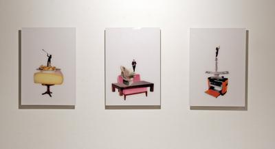 Émilie Perotto -  A cor et cri (Sarah), 2007 – Akim et son chien, 2007 – Le vertige, 2007 - La Station -  Art Contemporain - Nice - La Station à Villeurbanne