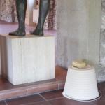 Émilie Perotto - Le seau et l'éponge en bois, 2008 - La Station -  Art Contemporain - Nice - Subito