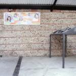 Gilbert Caty -  Fondation René d'Azur centre de repos pour artistes fainéants Chongqing, Chine [tirage numérique sur bâche, 50 x 300 cm  – 2007] - La Station -  Art Contemporain - Nice - La Station à Perpignan