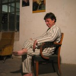 Gilbert Caty - La Station -  Art Contemporain - Nice - Dormir tête-bêche avec un inconnu