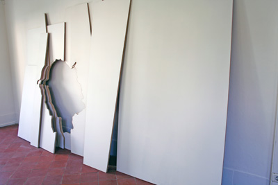 Aurélie Godard - La Traversée — 2007 - La Station -  Art Contemporain - Nice - Invitation furtive pour candidatures spontanées