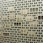 Ingrid Luche - IL : Portraits de Bestioles, photographies couleur encadrées – JL : Les Métamorphoses (proposition n° 1), 2009.  Impression numérique sur papier dos bleu, 370 x 1050 cm  - La Station -  Art Contemporain - Nice - Écotone