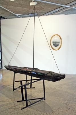 Karim Ghelloussi - sans titre (et l'unique cordeau des trompettes marines), 2007 - La Station -  Art Contemporain - Nice - La Station à Villeurbanne