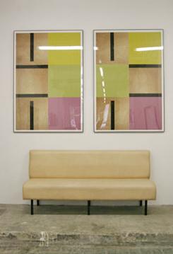 John M.Armleder - Sans titre 03 et 04, 2006  - La Station -  Art Contemporain - Nice - My eyes keep me in trouble