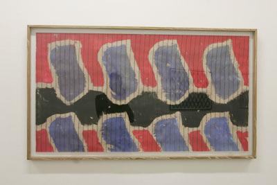 Claude Viallat - Sans titre 8, 2008  - La Station -  Art Contemporain - Nice - My eyes keep me in trouble