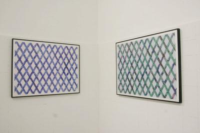 Daniel Dezeuze - Sans titre 3 et 4, 2000  - La Station -  Art Contemporain - Nice - My eyes keep me in trouble