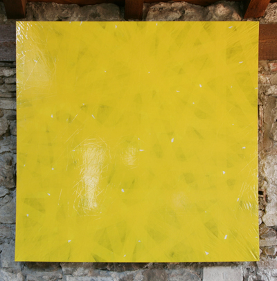 Marc Chevalier - Del giallo, 2007  - La Station -  Art Contemporain - Nice - Subito