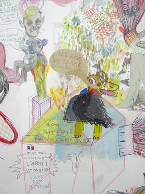 Nelly Maurel - Macédoine (suite) — 2007 - La Station -  Art Contemporain - Nice - Invitation furtive pour candidatures spontanées