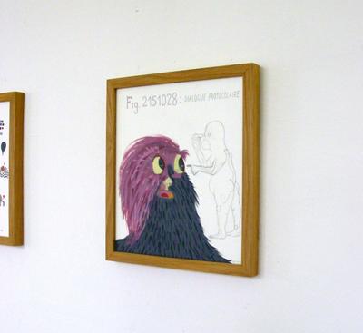 Nelly Maurel - Dessins —2001-2007 - La Station -  Art Contemporain - Nice - Invitation furtive pour candidatures spontanées
