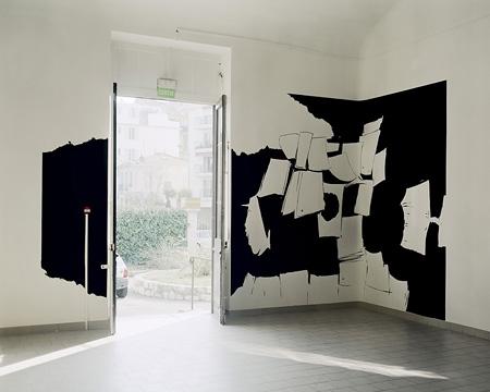 Olivier Nottellet - vue de l'exposition - La Station -  Art Contemporain - Nice - White Spirit