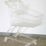 Pierre Vadi-Microfissure - Squelette  (chariot) — 2005  - La Station -  Art Contemporain - Nice - Carte blanche à Circuit