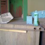 Sarah Tritz - « Que celui aime peu qui aime la mesure » (La Boétie) — 2006 - La Station -  Art Contemporain - Nice - Certains travaux doivent être accomplis à la surface du sol...