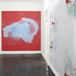 Dominique Figarella - Sans titre, 2007 [au fond, 1] • Sans titre, 2006 [à droite, 2]  - La Station -  Art Contemporain - Nice - Dominique Figarella
