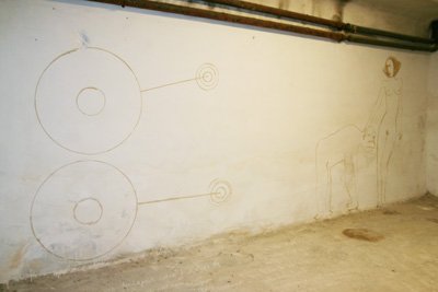 Laurent Tixador - Dessins muraux - La Station -  Art Contemporain - Nice - La Grande Symbiose II
