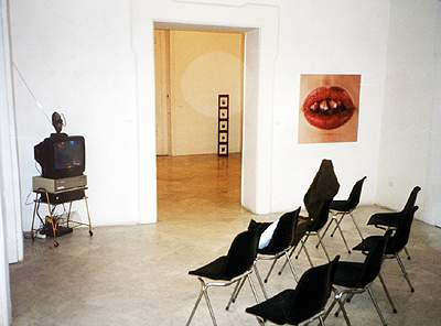 Arnaud Maguet-Maxime Matray-Natacha Lesueur - La Station -  Art Contemporain - Nice - Uomini con baffi in Napoli